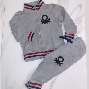 2T toddler boy tracksuit united colours of b